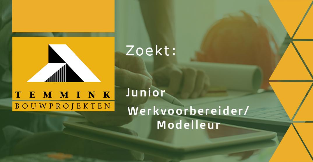 Junior werkvoorbereider/modelleur
